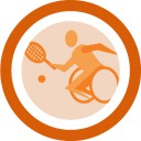 Tennis en chaise roulante